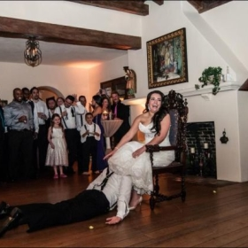 The groom is dead on arrival.